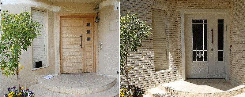 החלפת דלתות עץ