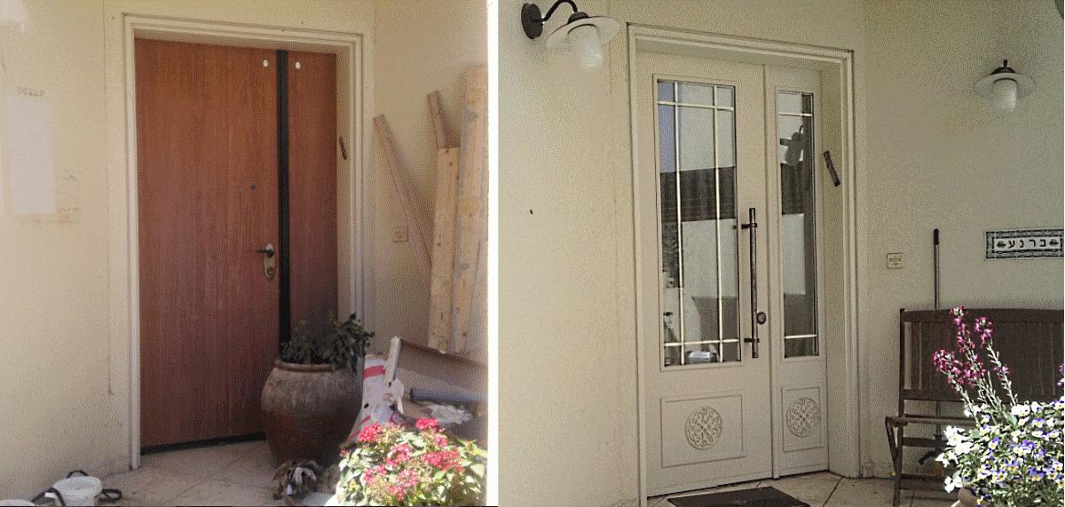 החלפת דלתות פלדלת