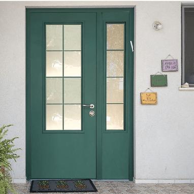דלתות כניסה כנף וחצי חלון צרפתי