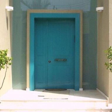 דלת כניסה כנף וחצי דגם VG