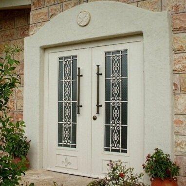 דלת כניסה דו כנפית דגם AV GLR