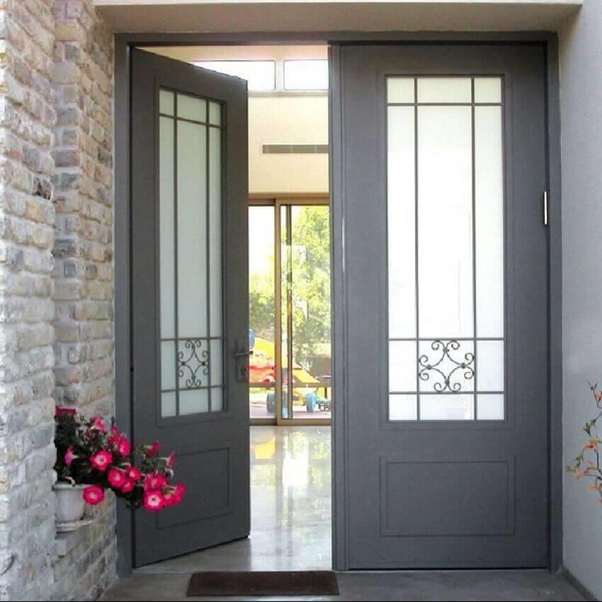 דלת כניסה דו כנפית דגם GLR