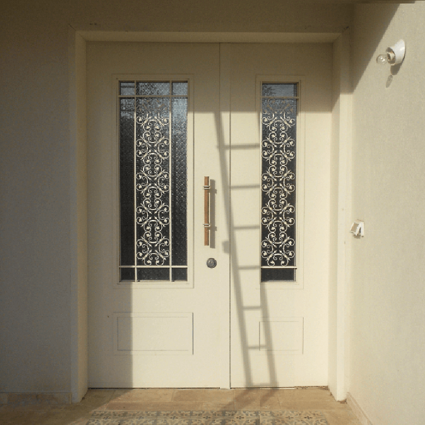 דלת כניסה כנף וחצי דגם LT