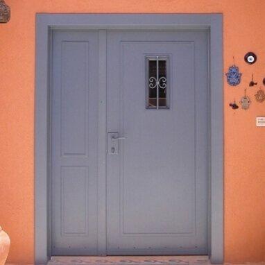 דלת כניסה כנף וחצי דגם RN