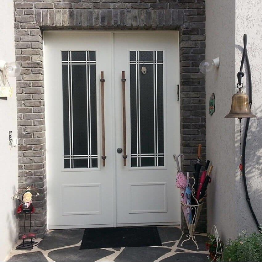 דלת כניסה דו כנפית דגם RV
