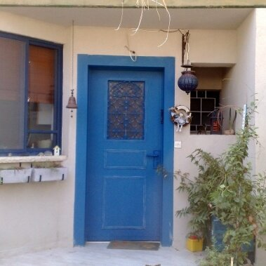 דלת כניסה ALGIR כחול