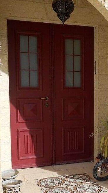 דלתות מעוצבות לבית שמר(1)