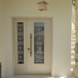 דלת כניסה כנף וחצי דגם AV