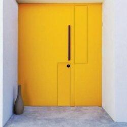 דלתות קו אפס הצהובה