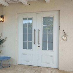 דלת אלומיניום דגם חלון צרפתי