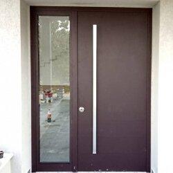 דלת אלומיניום דגם MIR יחידת צד מזוגגת