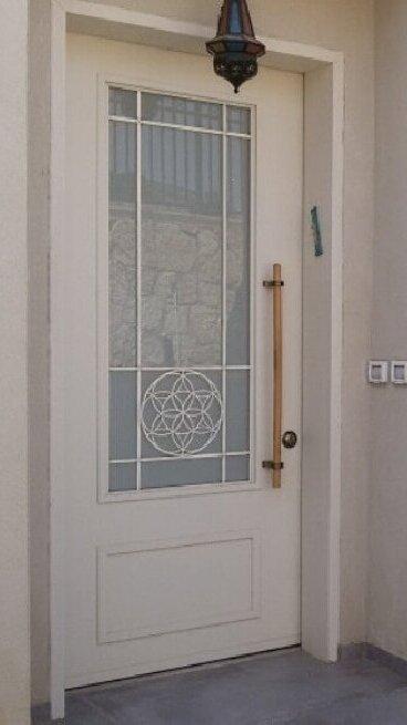 דלתות מעוצבות פרח החיים
