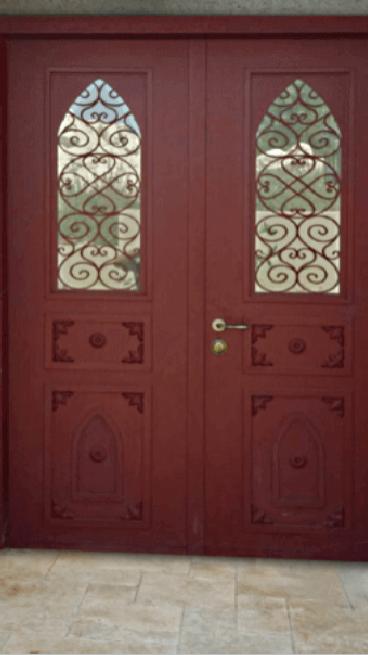 דלתות מעוצבות רעיון של מהא